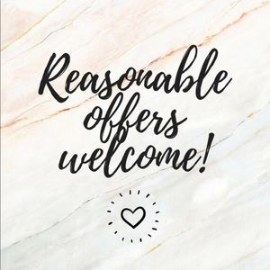 ☆ALL REASONABLE OFFERS WELCOME☆